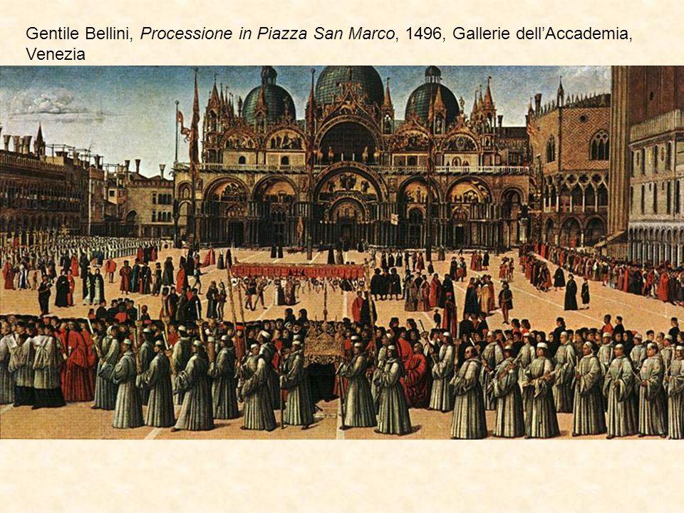 Gentile Bellini, Processione in Piazza San Marco, 1496, Gallerie dell'Accademia, Venezia