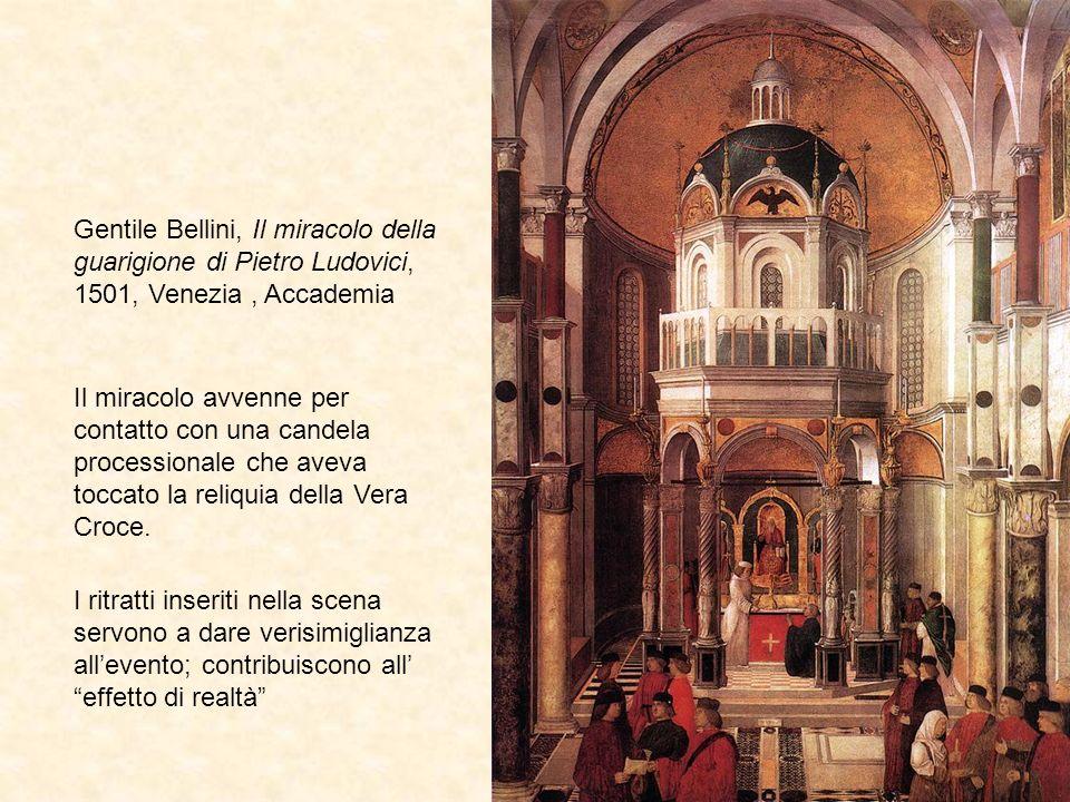 Gentile Bellini, Il miracolo della guarigione di Pietro Ludovici, 1501, Venezia , Accademia