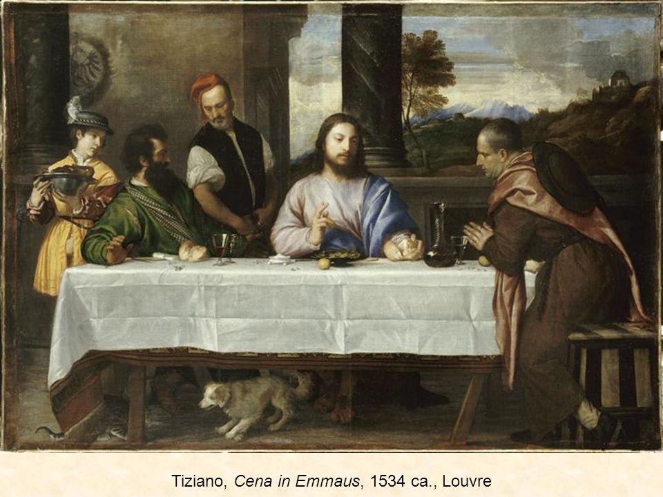 Tiziano, Cena in Emmaus, 1534 ca., Louvre