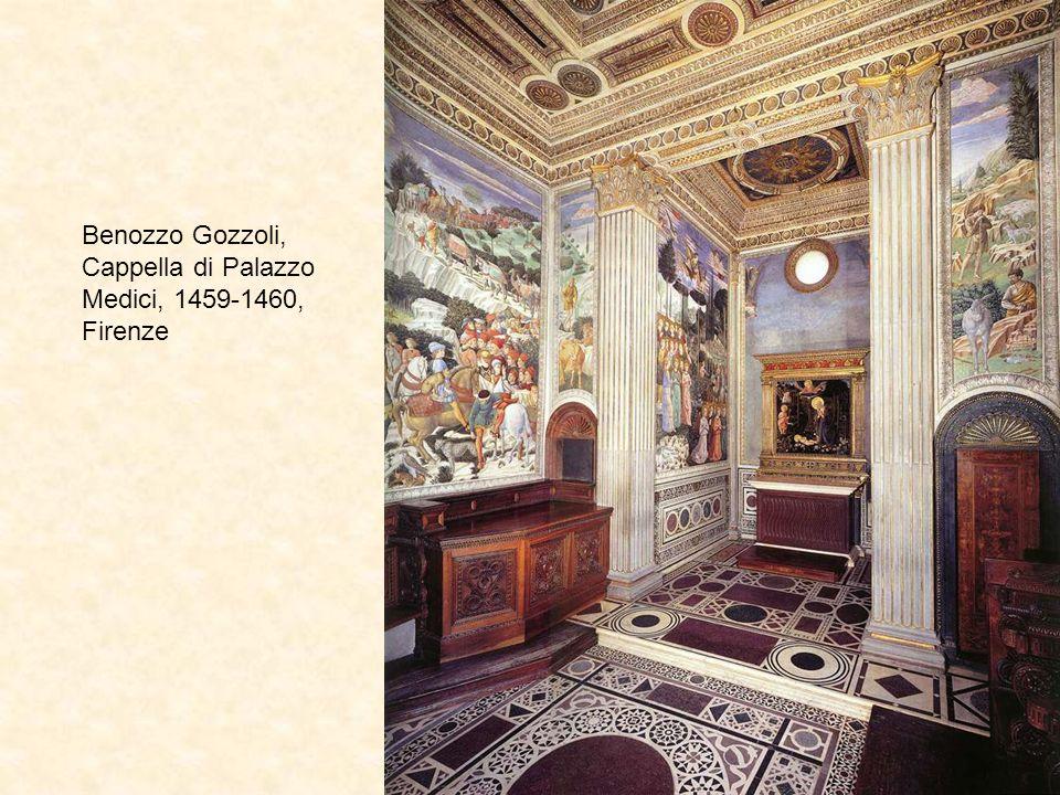 Benozzo Gozzoli, Cappella di Palazzo Medici, 1459-1460, Firenze