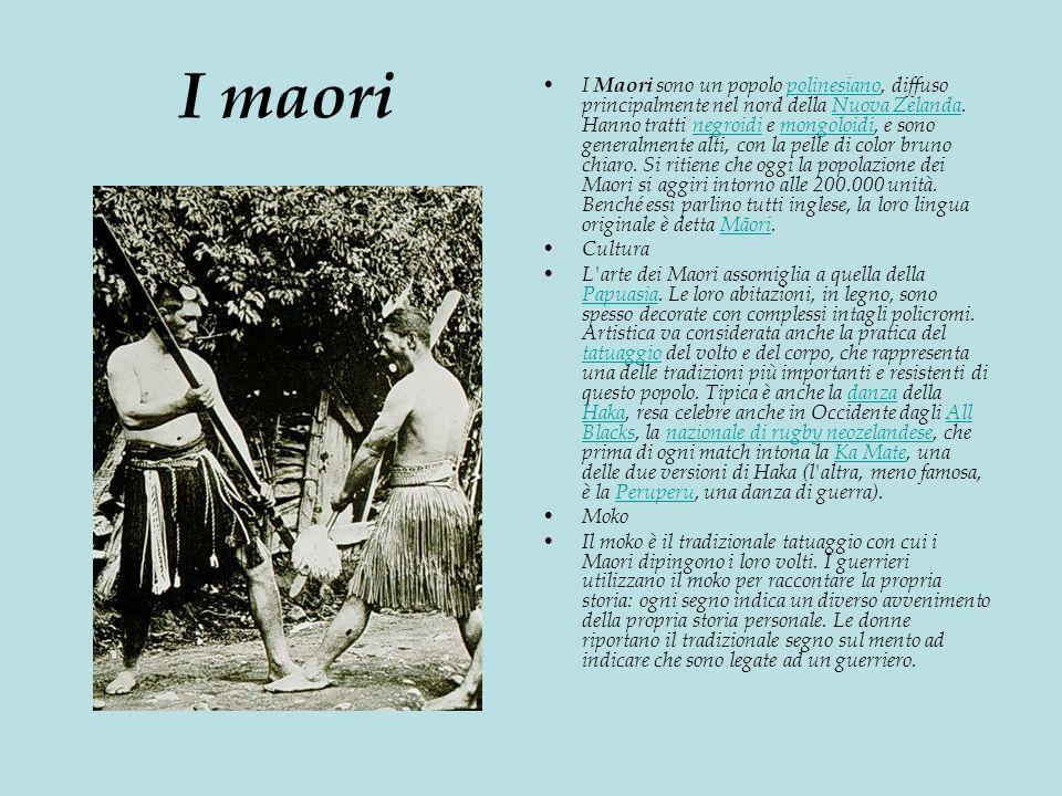 I maori