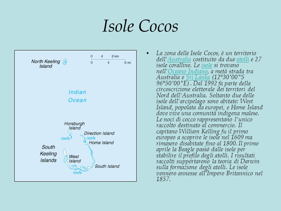 Isole Cocos