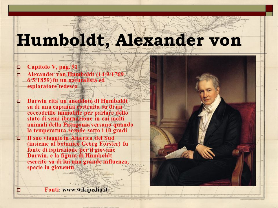 Humboldt, Alexander von