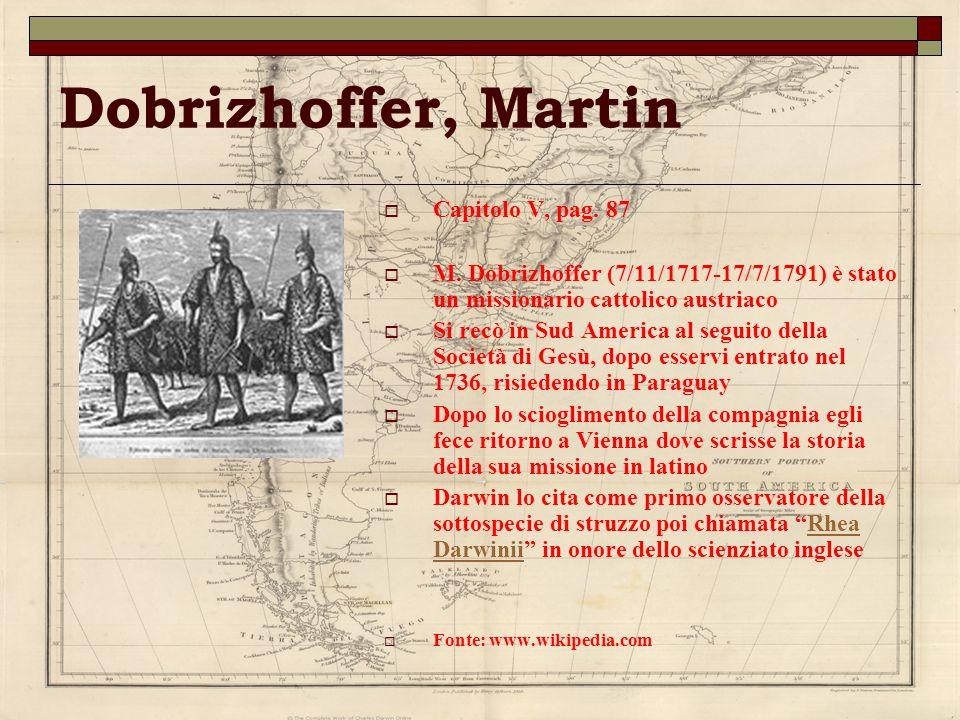 Dobrizhoffer, Martin Capitolo V, pag. 87