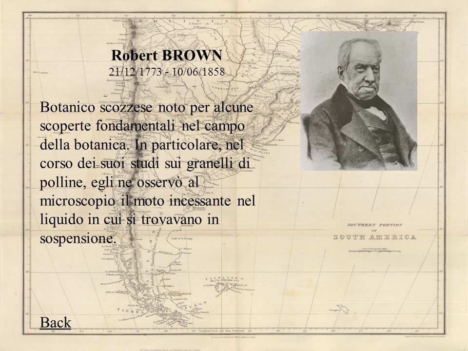 Robert BROWN 21/12/1773 - 10/06/1858