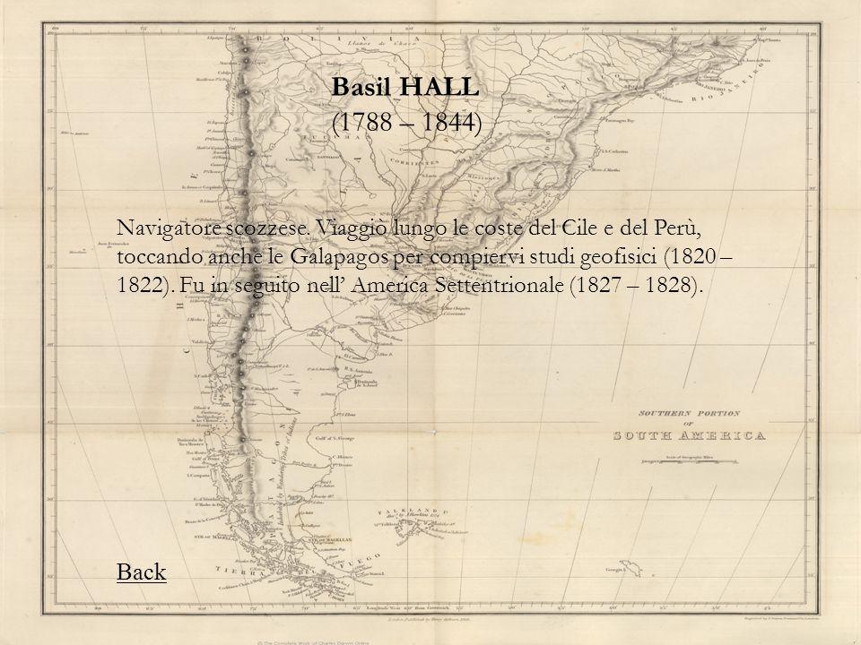 Basil HALL (1788 – 1844)