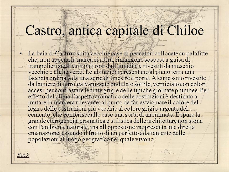 Castro, antica capitale di Chiloe