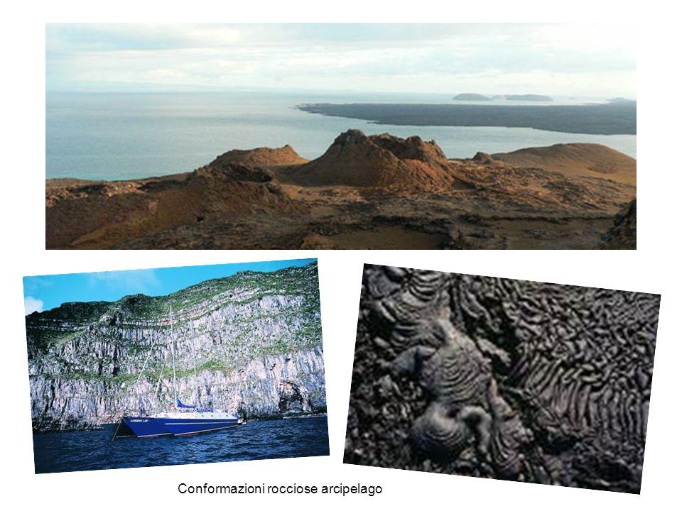 Conformazioni rocciose arcipelago