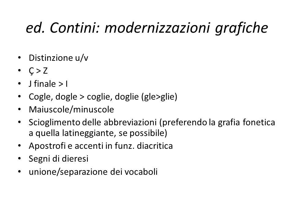 ed. Contini: modernizzazioni grafiche