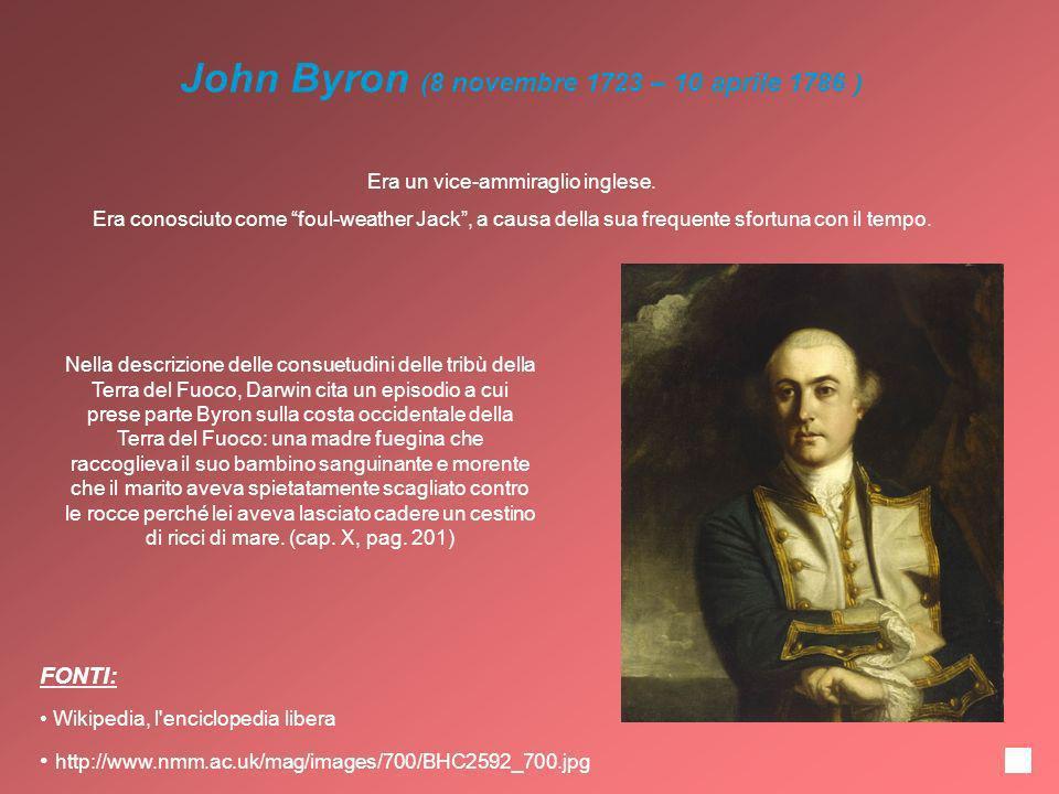 John Byron (8 novembre 1723 – 10 aprile 1786 )