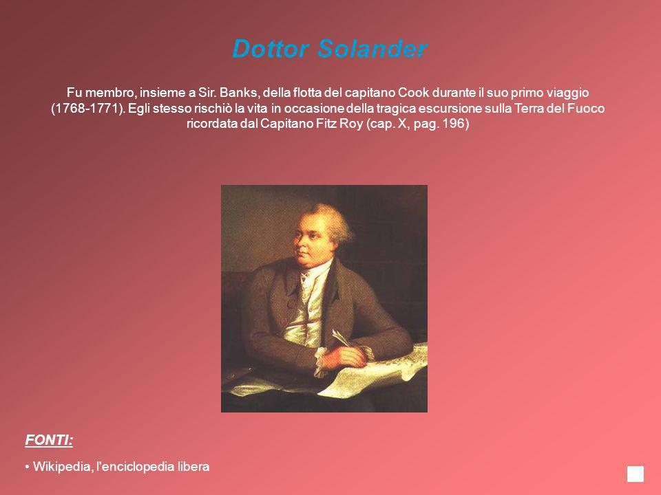 Dottor Solander FONTI: