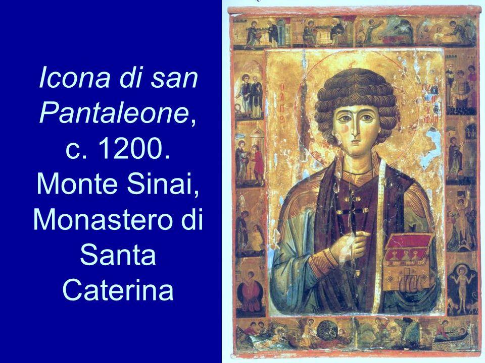 Icona di san Pantaleone, c. 1200