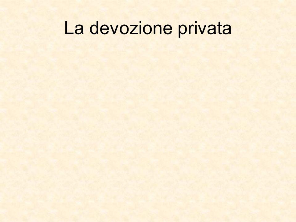 La devozione privata
