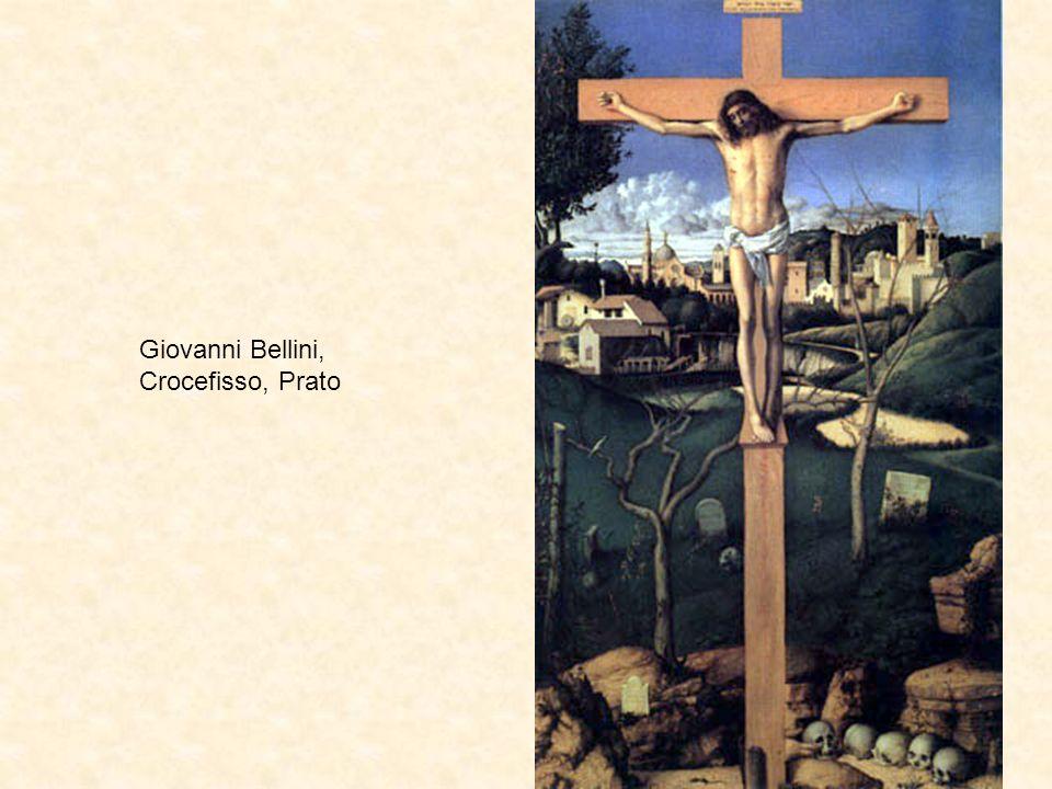 Giovanni Bellini, Crocefisso, Prato