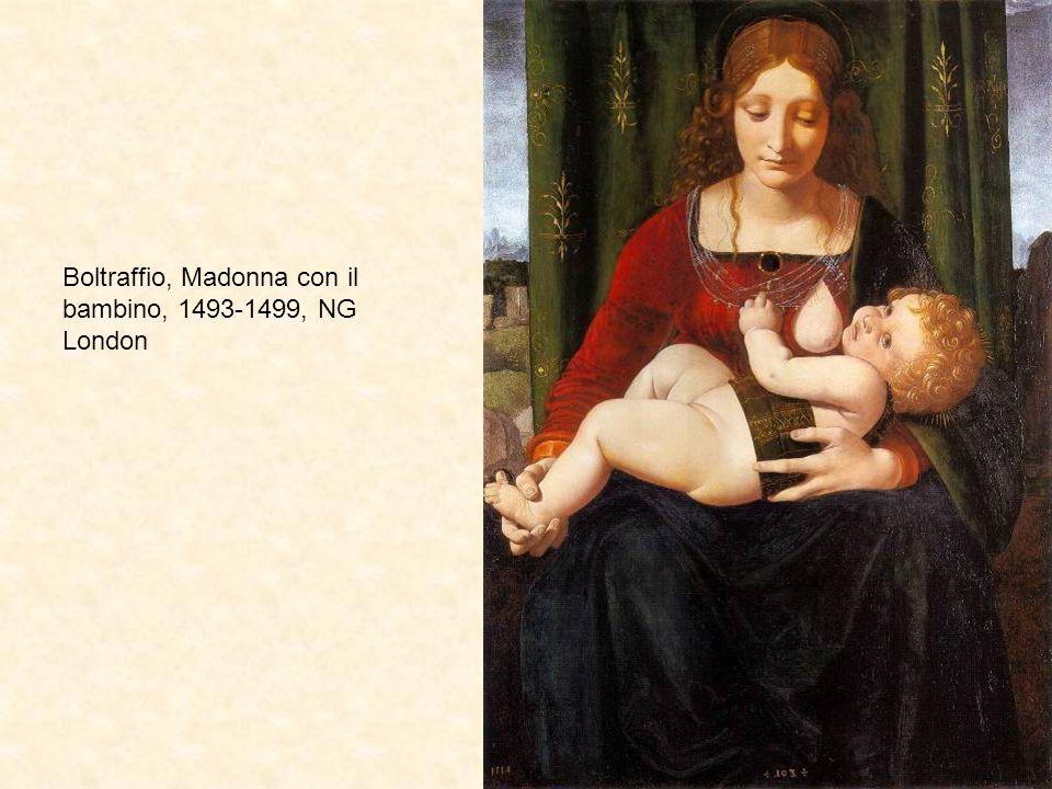 Boltraffio, Madonna con il bambino, 1493-1499, NG London