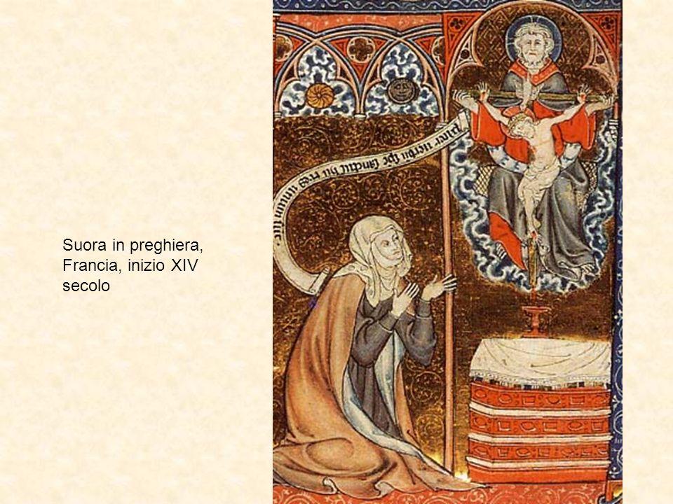 Suora in preghiera, Francia, inizio XIV secolo