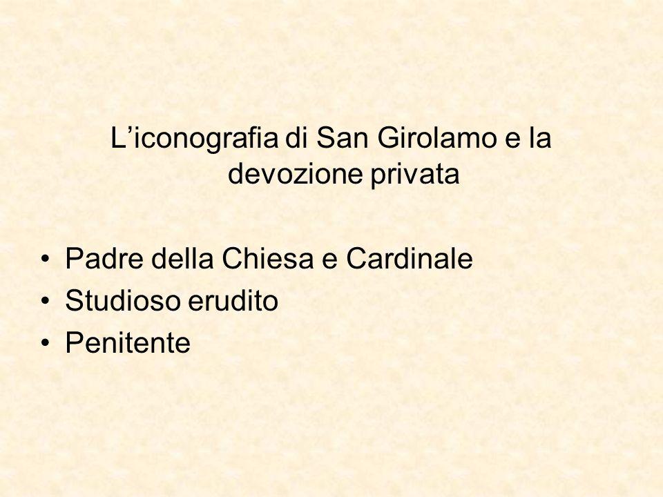 L'iconografia di San Girolamo e la devozione privata