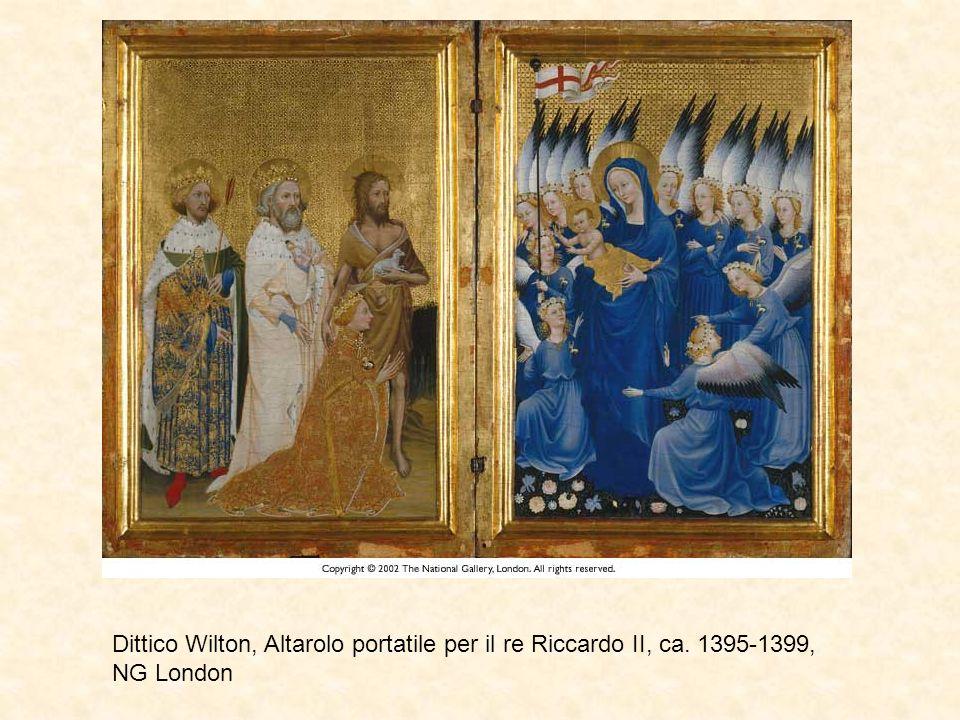 Dittico Wilton, Altarolo portatile per il re Riccardo II, ca