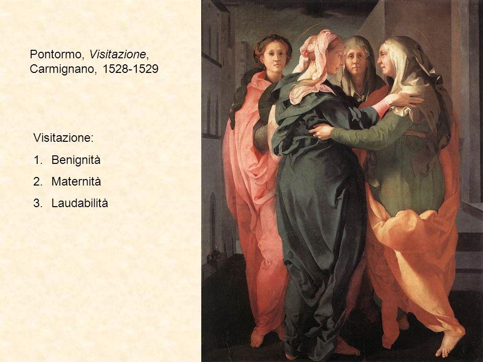 Pontormo, Visitazione, Carmignano, 1528-1529