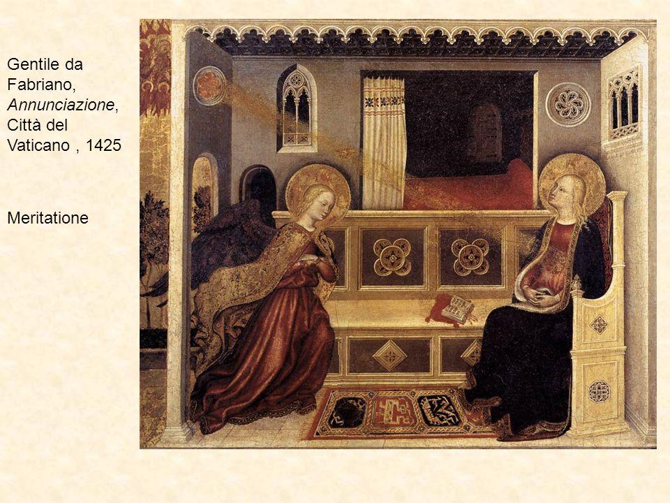 Gentile da Fabriano, Annunciazione, Città del Vaticano , 1425