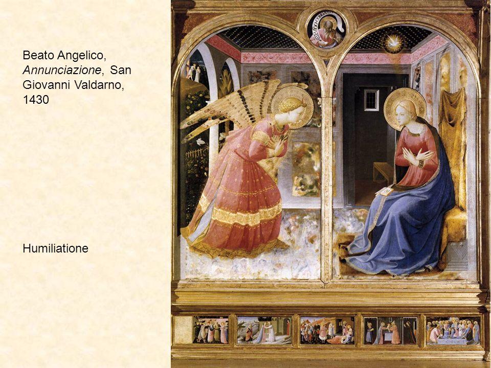 Beato Angelico, Annunciazione, San Giovanni Valdarno, 1430