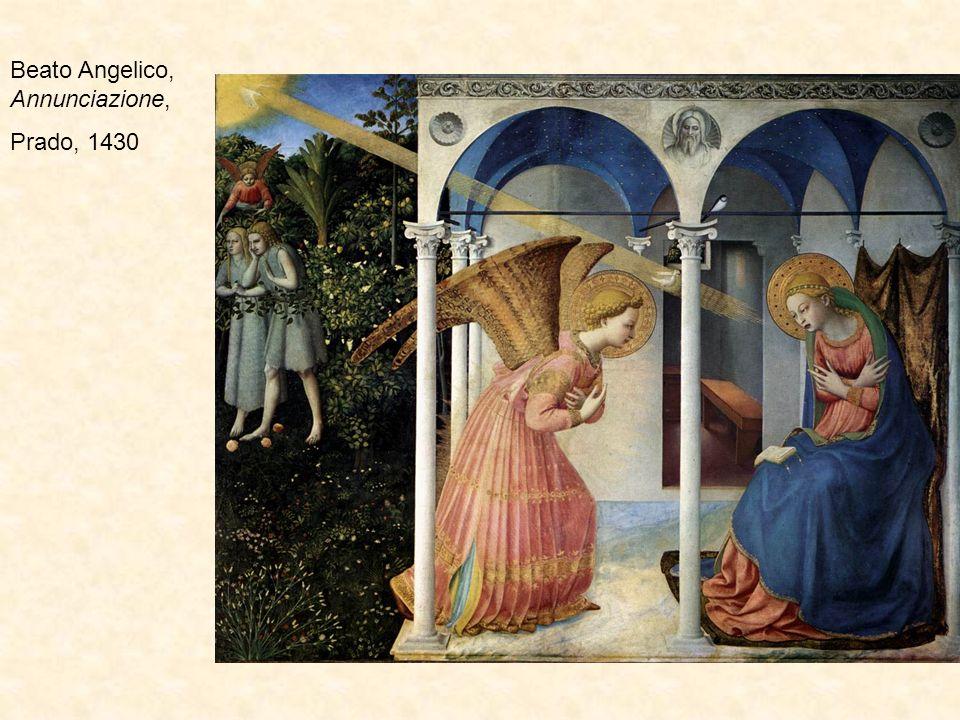 Beato Angelico, Annunciazione,