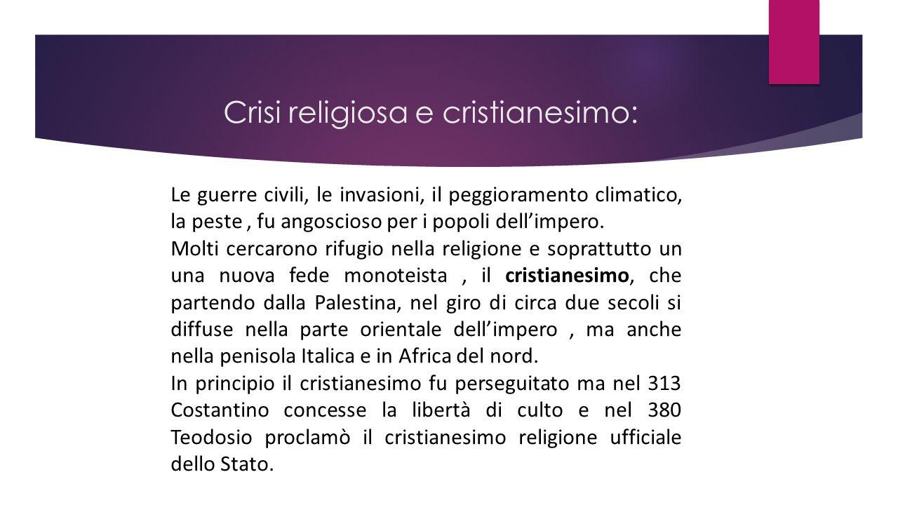 Crisi religiosa e cristianesimo: