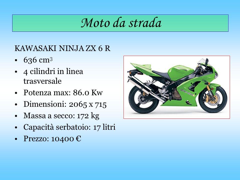 Moto da strada KAWASAKI NINJA ZX 6 R 636 cm3