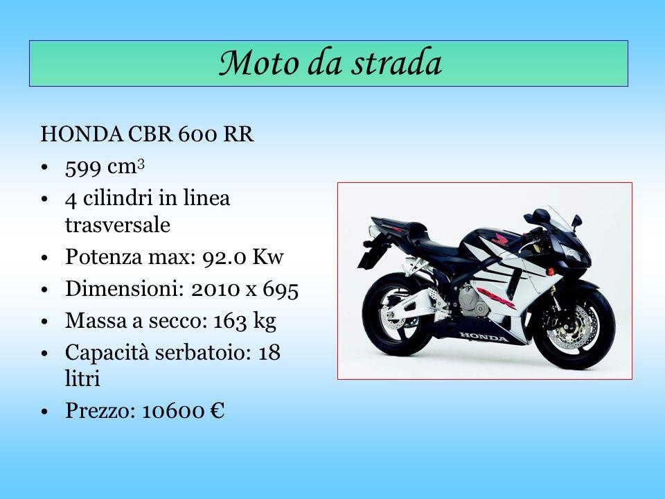 Moto da strada HONDA CBR 600 RR 599 cm3