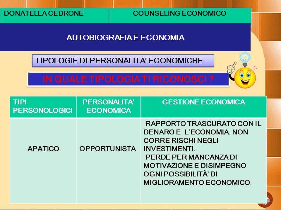 AUTOBIOGRAFIA E ECONOMIA