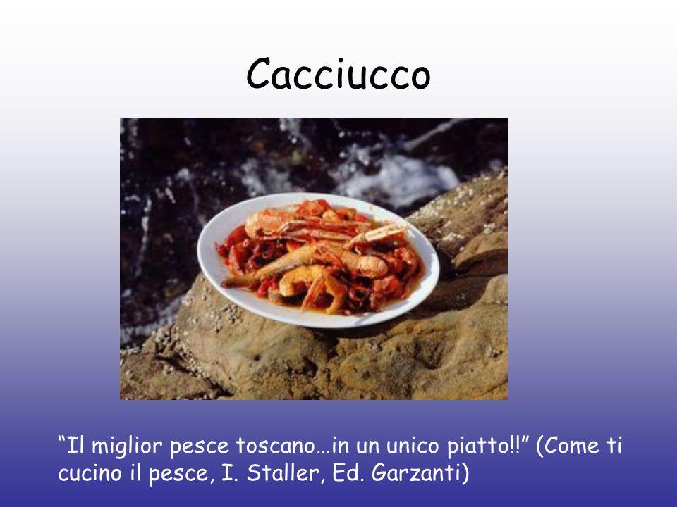Cacciucco Il miglior pesce toscano…in un unico piatto!! (Come ti cucino il pesce, I.