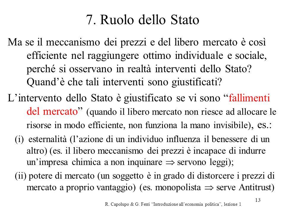 7. Ruolo dello Stato