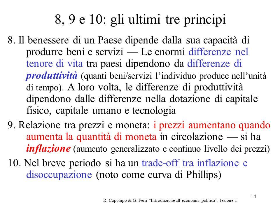 8, 9 e 10: gli ultimi tre principi