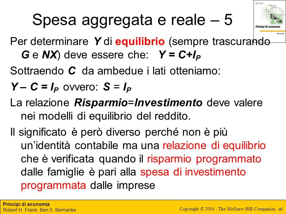 Spesa aggregata e reale – 5