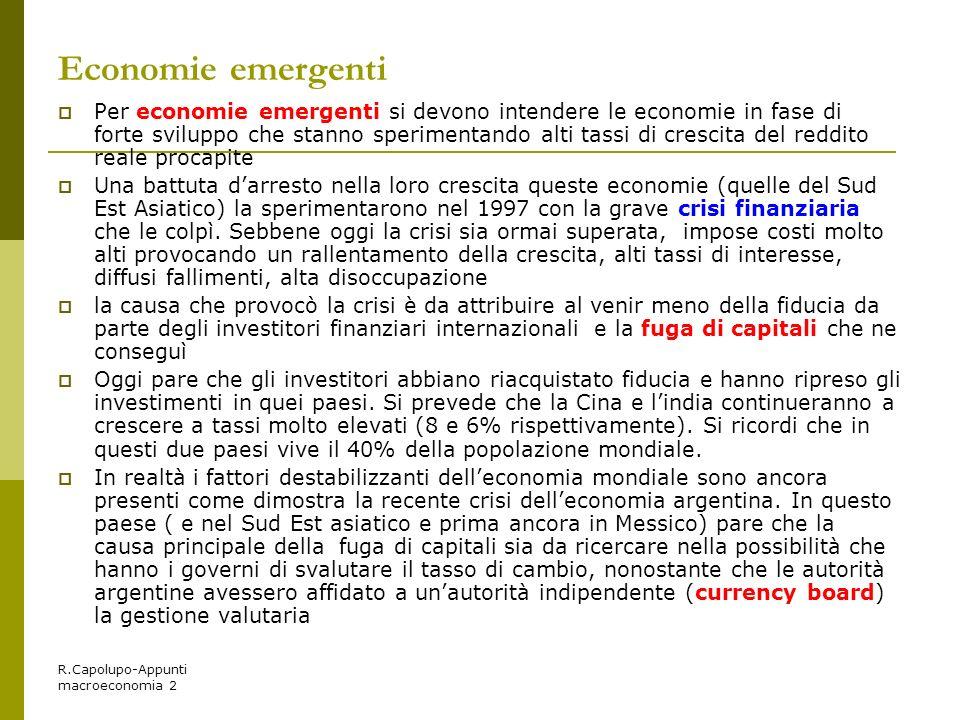 Economie emergenti
