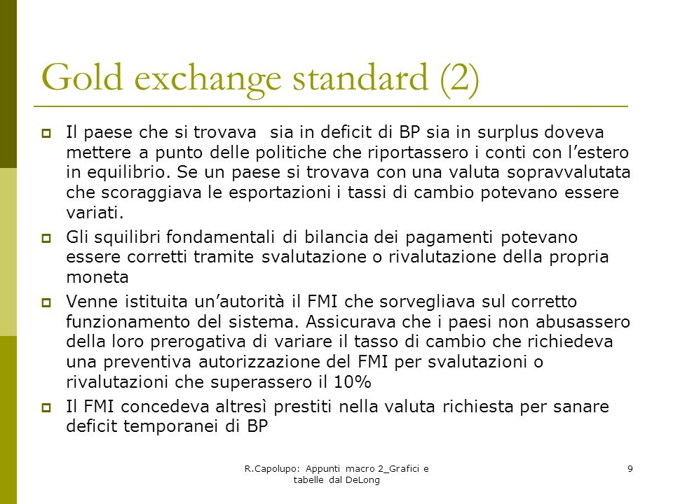 Gold exchange standard (2)