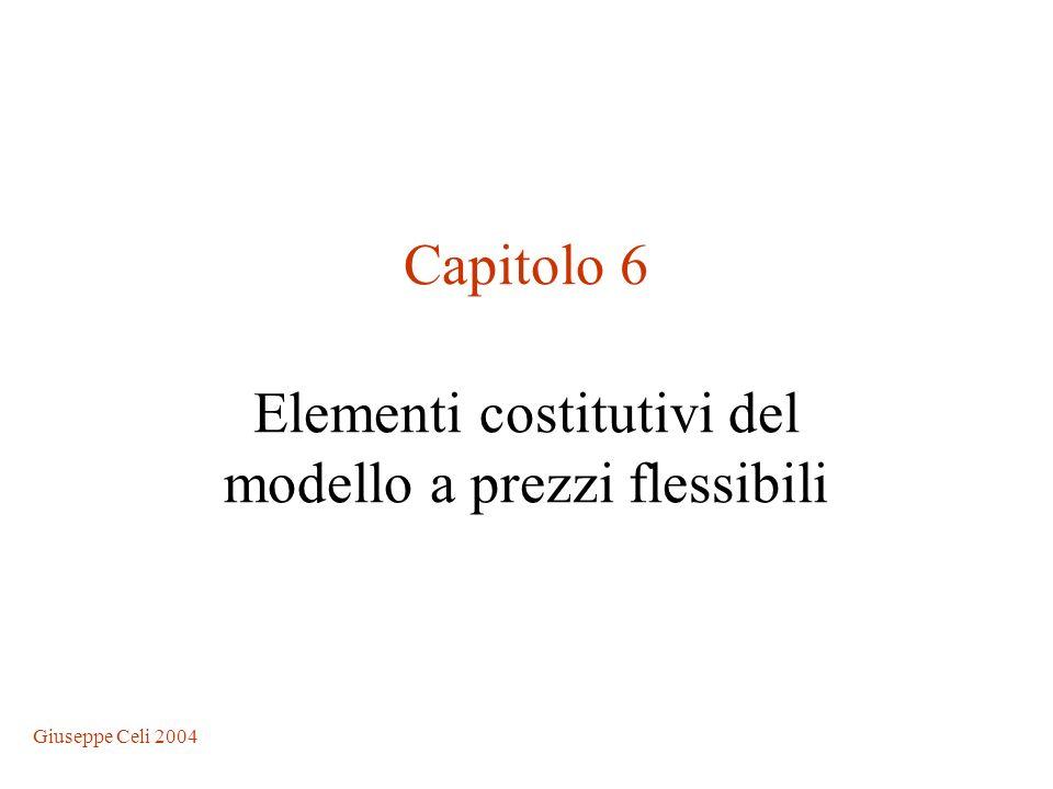 Elementi costitutivi del modello a prezzi flessibili