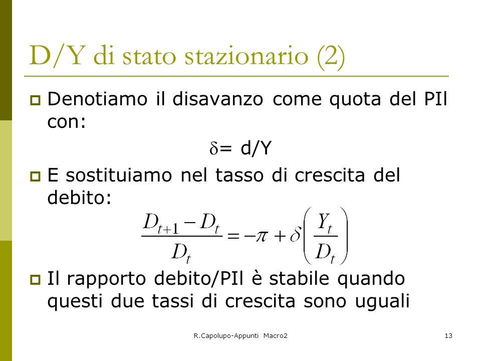 D/Y di stato stazionario (2)