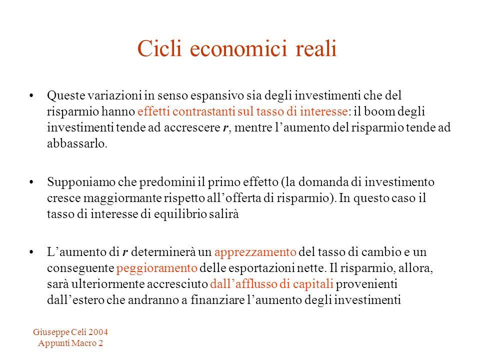Cicli economici reali