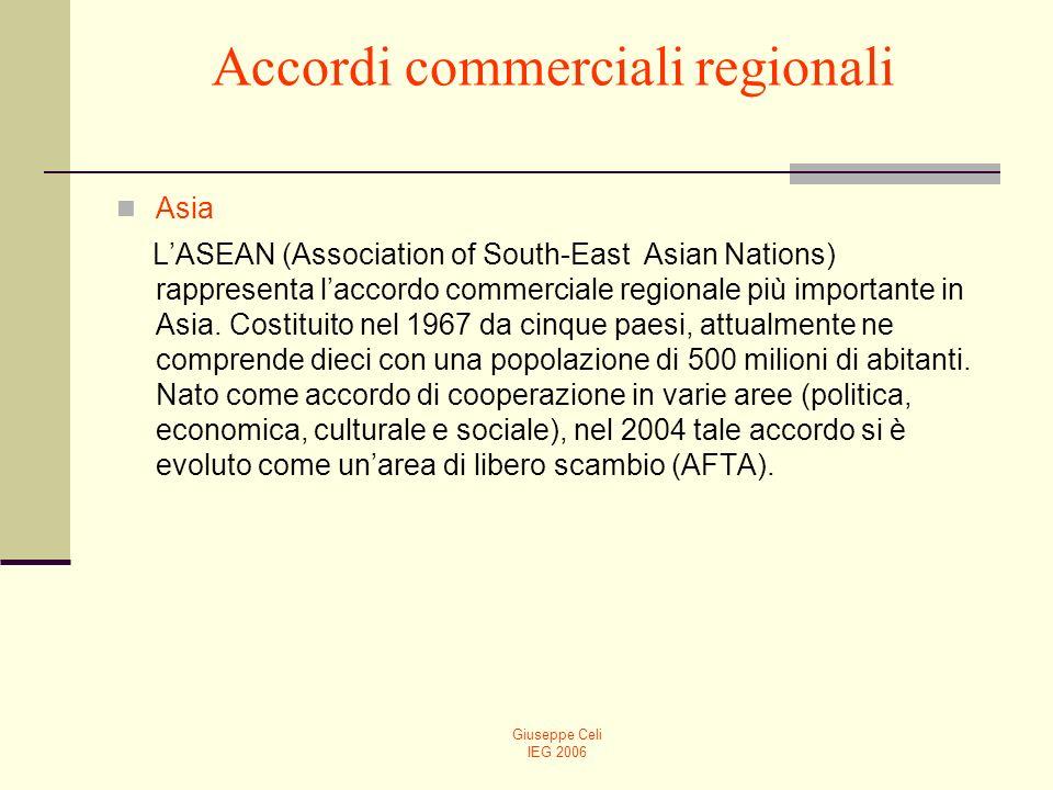 Accordi commerciali regionali