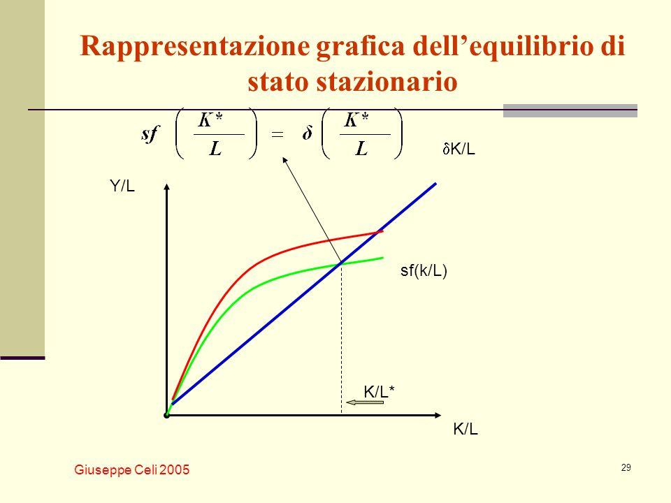 Rappresentazione grafica dell'equilibrio di stato stazionario