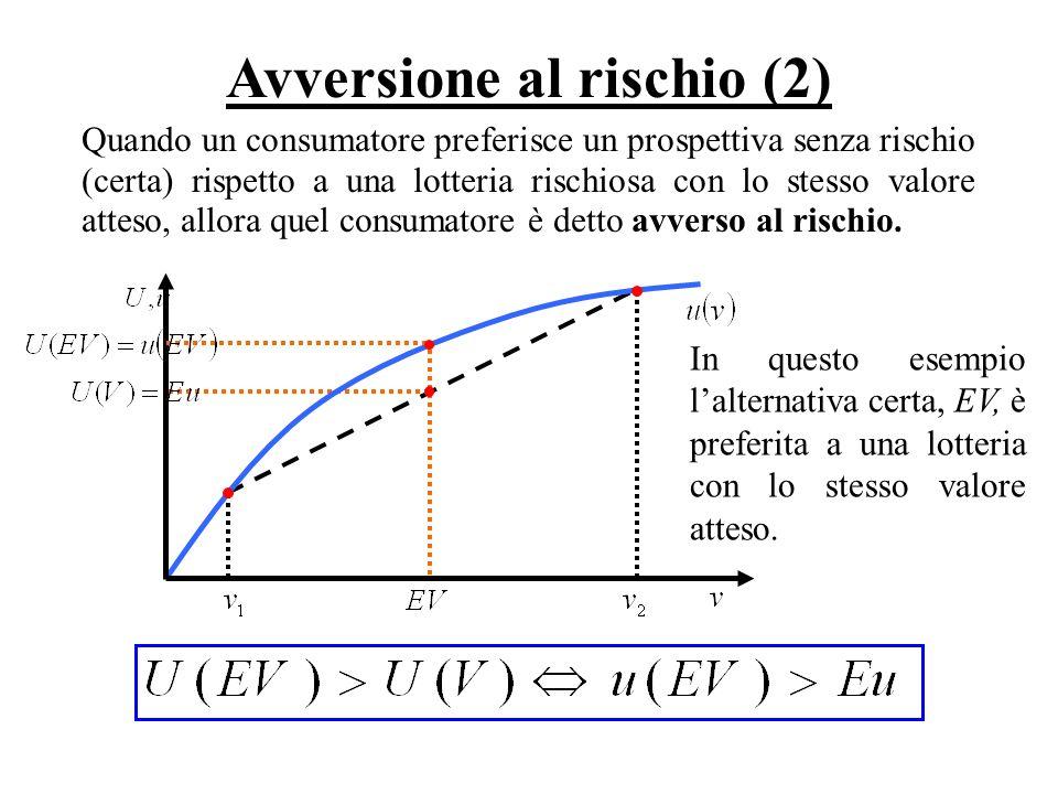 Avversione al rischio (2)