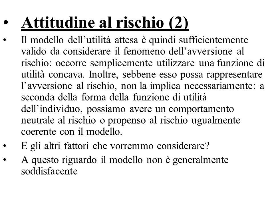 Attitudine al rischio (2)