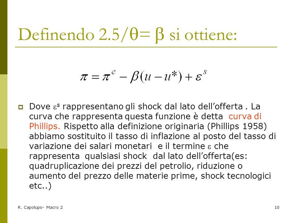 Definendo 2.5/=  si ottiene: