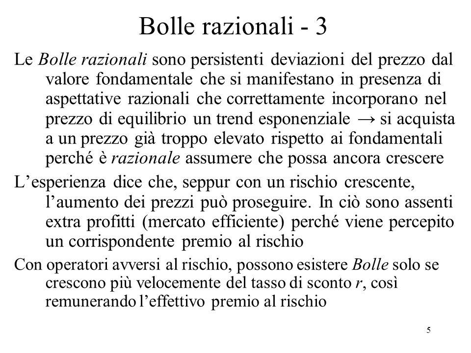 Bolle razionali - 3