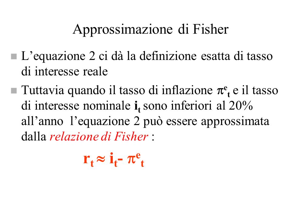 Approssimazione di Fisher