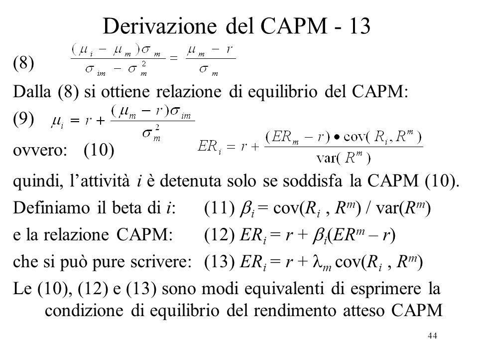 Derivazione del CAPM - 13 (8)