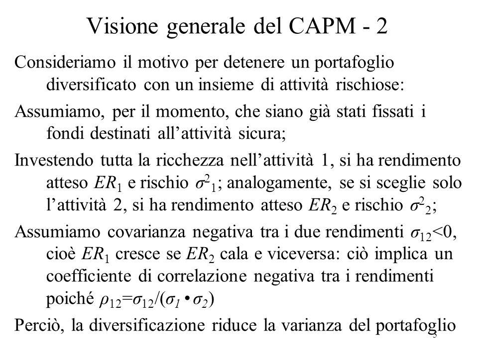 Visione generale del CAPM - 2