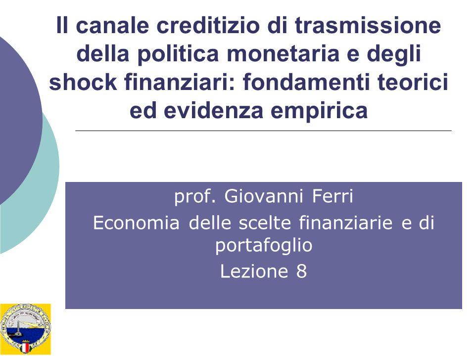 Economia delle scelte finanziarie e di portafoglio