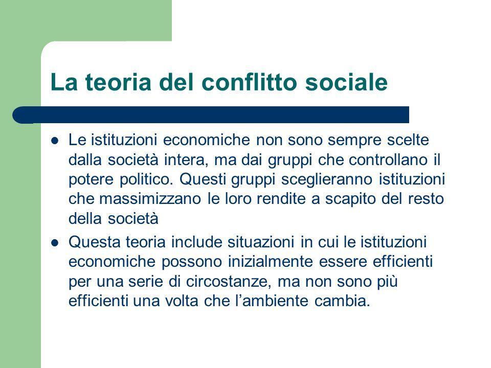 La teoria del conflitto sociale